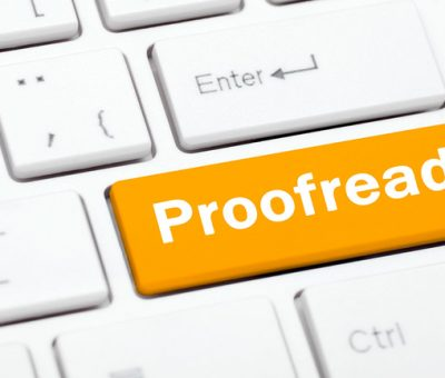 How much does a professional proofreading service charge?