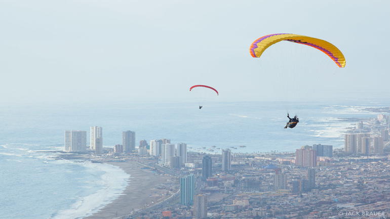 Paragliding In America